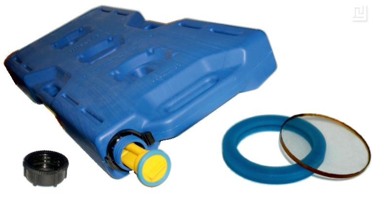 Polyurethane cuffs are used instead of rubber